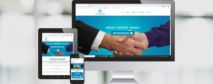 New website by Highpoint Media - ID Finance