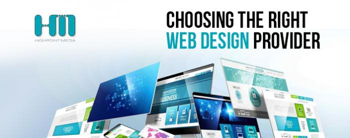 Choosing the right web design provider